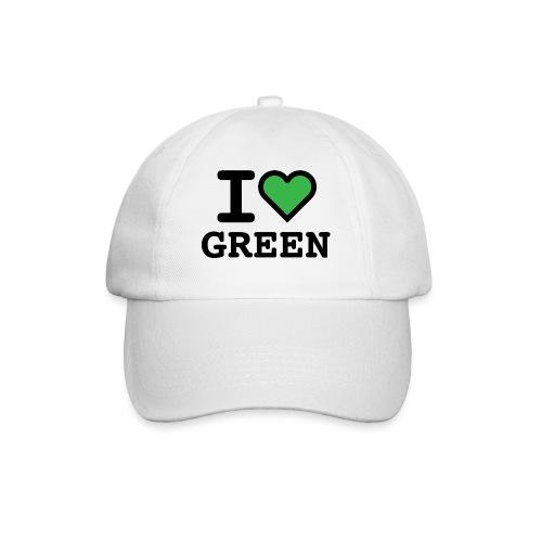 i-love-green-2.png - Cappello con visiera