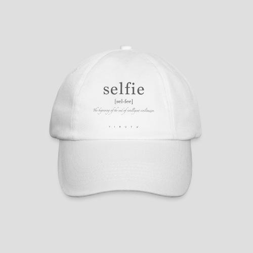 S-E-L-FI-E - Cappello con visiera