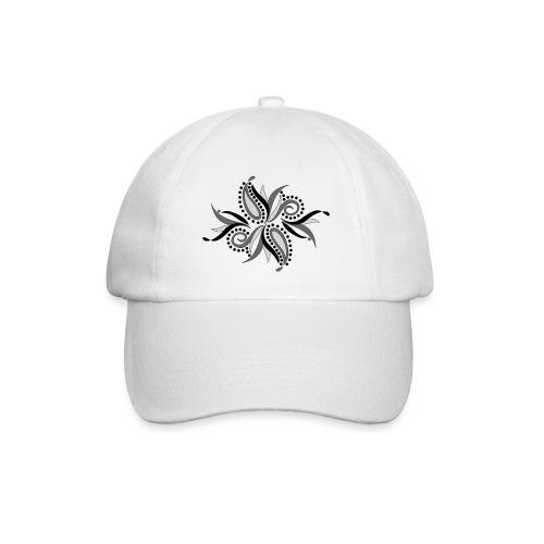 foglie astratte - Cappello con visiera