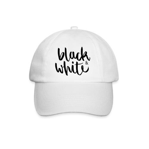 black&white1 - Baseballkappe