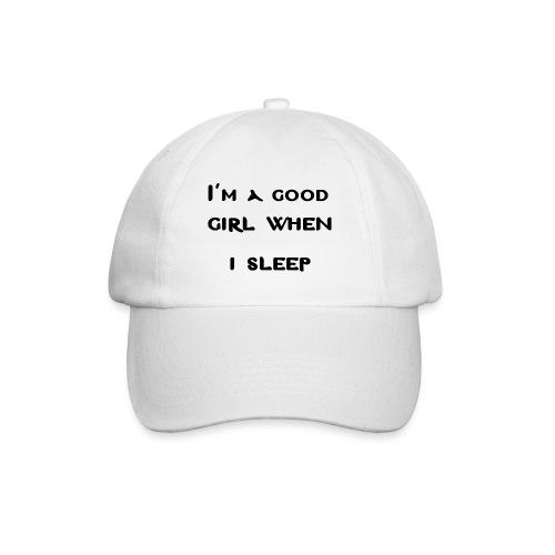 i am good girl when i sleep - Cappello con visiera