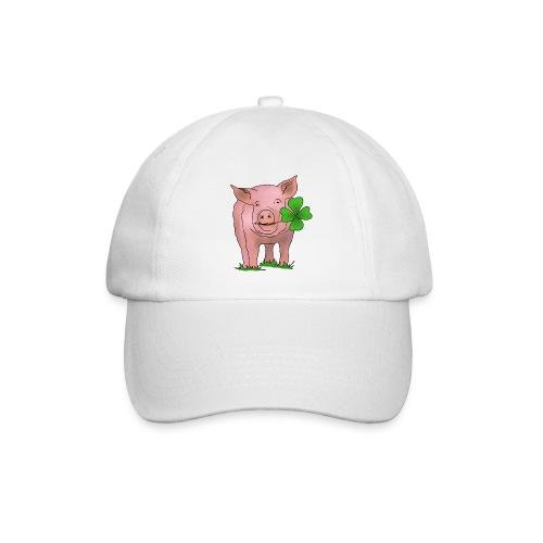 Glücksschwein - Baseballkappe
