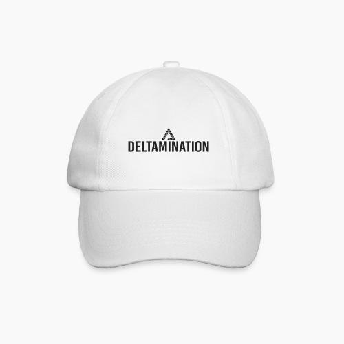 Deltamination Logo Schwarz - Baseballkappe