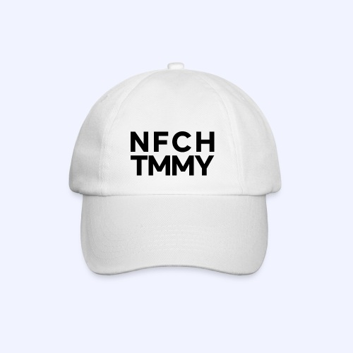 Einfach Tommy / NFCHTMMY / Black Font - Baseballkappe