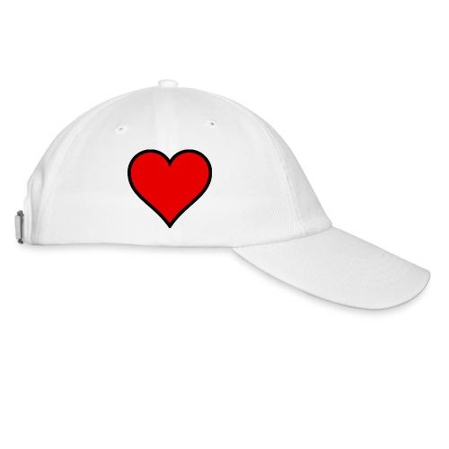 heart logo png - Baseball Cap