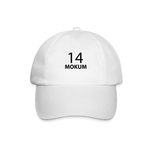 mokum 14 (black text) - Baseballcap
