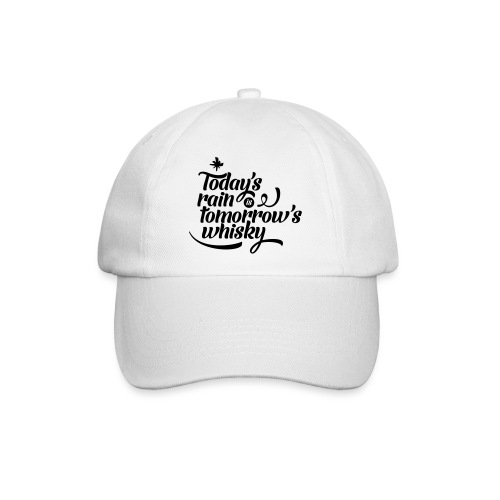Todays's Rain Women's Tee - Quote to Front - Baseball Cap