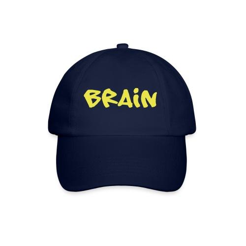 brain schriftzug - Baseballkappe