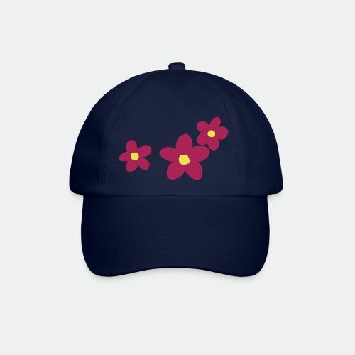 Three Flowers - Baseball Cap