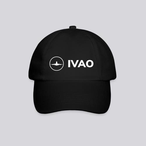 IVAO (White Full Logo) - Baseball Cap
