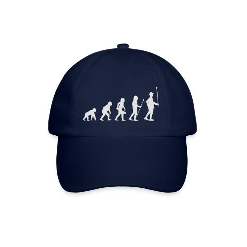Evolution Stabführer weiß - Baseballkappe