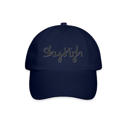 SkyHigh - Men's Premium T-Shirt - Black Lettering - Baseball Cap