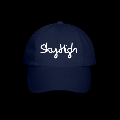 SkyHigh - Women's Chill Shirt - White Lettering - Baseball Cap