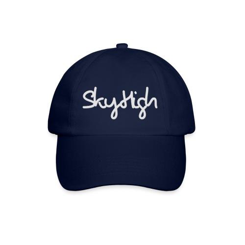 SkyHigh - Women's Hoodie - Gray Lettering - Baseball Cap