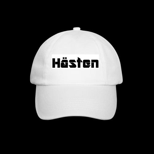 Hästen Vit/Svart - Basebollkeps