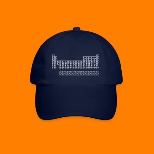 periodic white - Baseball Cap