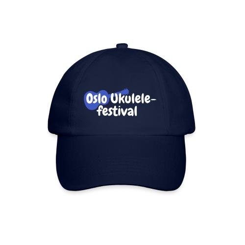 Festival logo hvit - Baseballcap