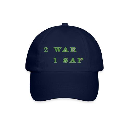 2 WAR 1 SAP - Cappello con visiera