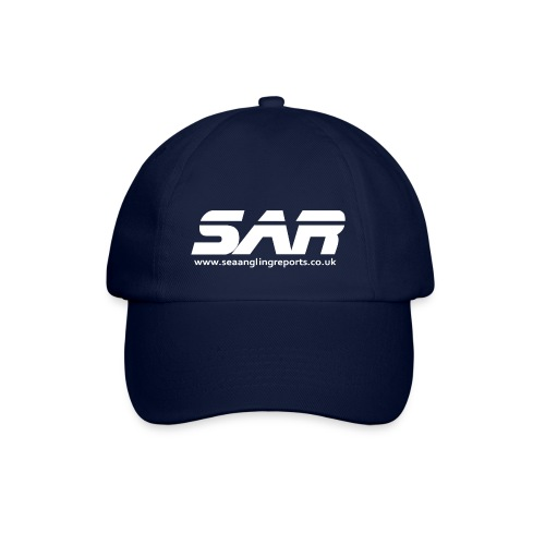 sar logo white ontransparent - Baseball Cap