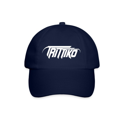 Trittiko Logo Weiss - Baseballkappe