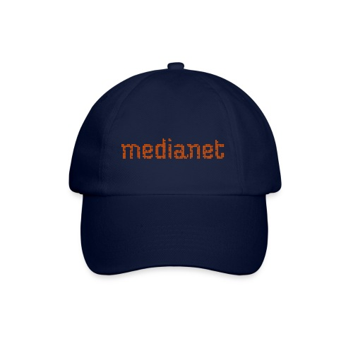 medianet logo orange - Baseballkappe
