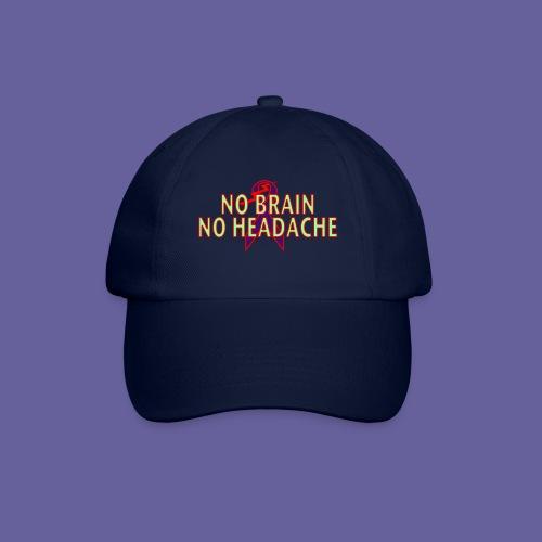 no brain no headache png - Casquette classique