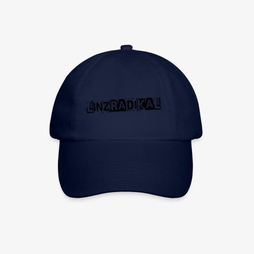 Linzradikal schwarz - Baseballkappe