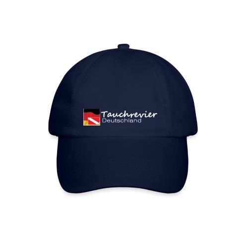 Tauchrevier Deutschland Logo classic weiß - Baseballkappe