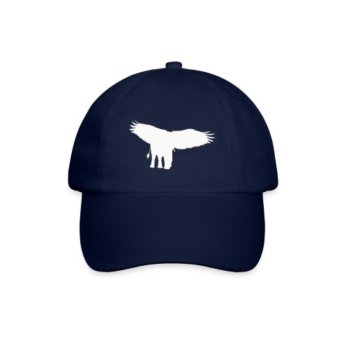 Adlerfant_Logo_WEIß - Baseballkappe