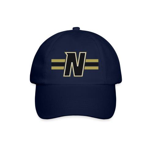 Nordic Steel Black N with stripes - Baseball Cap