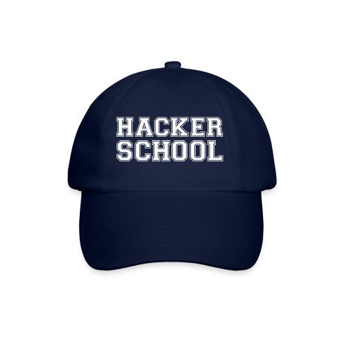 Hacker School ohne Pixel - Baseballkappe