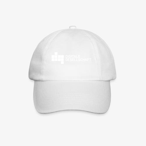 DigiGes Logo Weiß - Baseballkappe