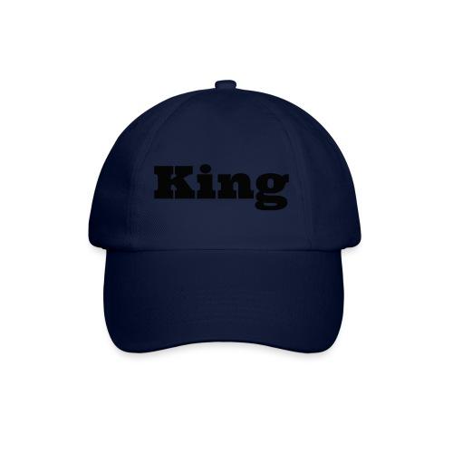 Snapback king rood/zwart - Baseballcap