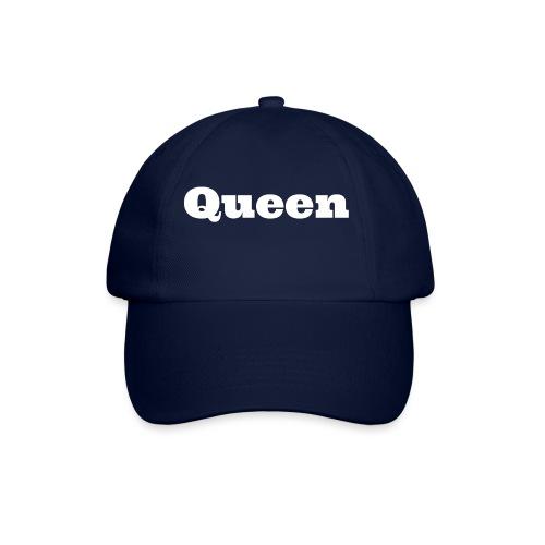 Snapback queen blauw/rood - Baseballcap