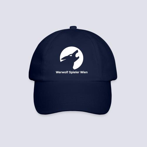 Werwolf Logo weiß + Schriftzug - Baseballkappe