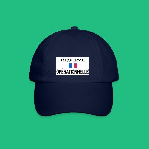 reserve operationnelle2 - Casquette classique