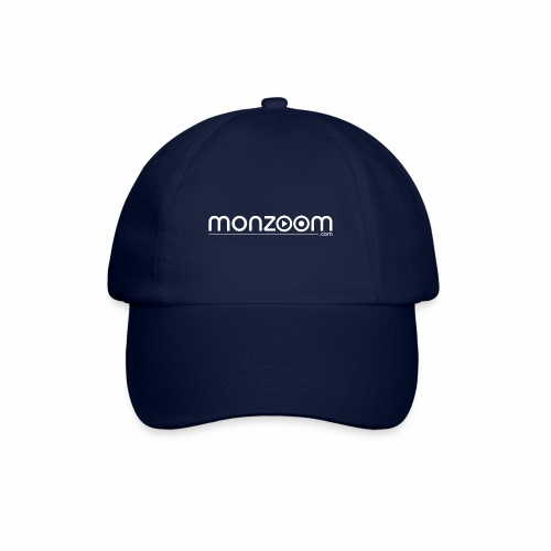monzoom com logo white - Baseball Cap