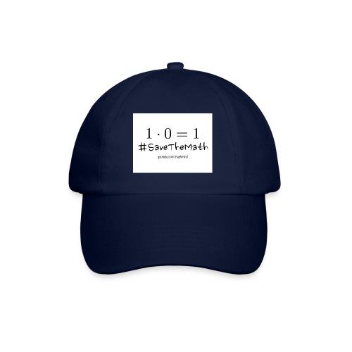 #SaveTheMath_1 - Cappello con visiera
