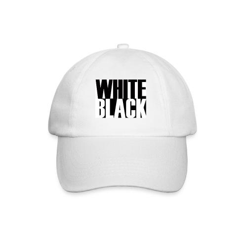 White, Black T-shirt - Baseballcap