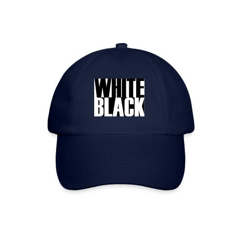 White, Black T-shirt - Baseballcap