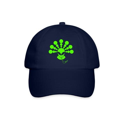 The Smoking Alien Green - Baseball Cap