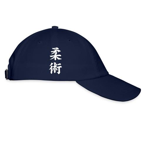 jiu-jitsu på japansk og logo i hvid - Baseballkasket