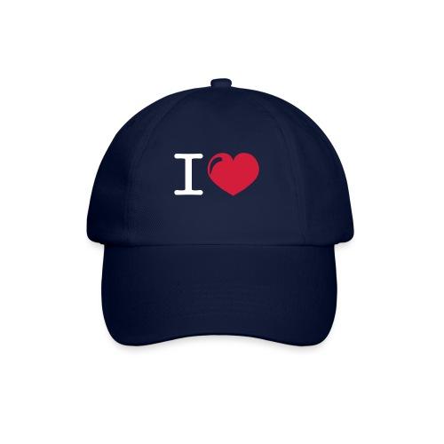 i love heart - Baseballcap