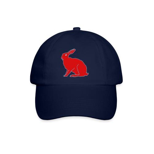 Roter Hase - Baseballkappe
