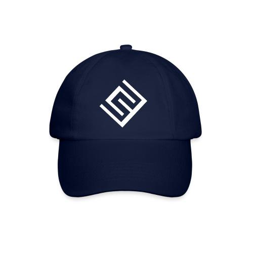ChrisWhippit Logo Vit - Basebollkeps
