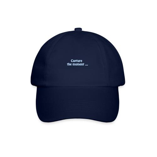 capture the moment photographer`s slogan - Baseball Cap