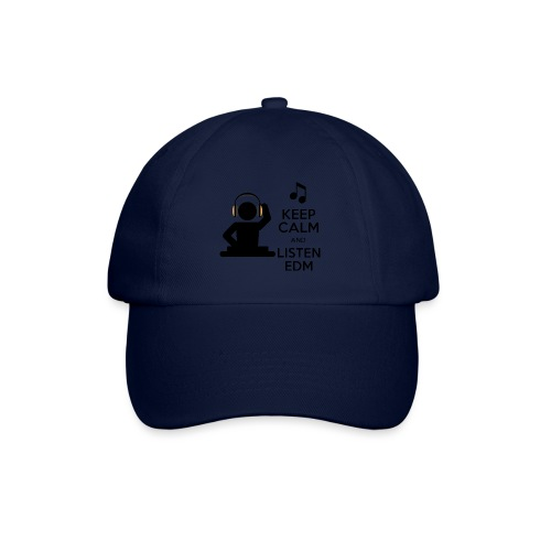 keep calm and listen edm - Baseball Cap