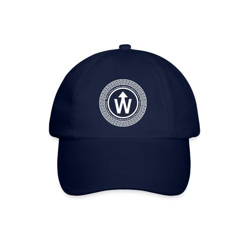 wit logo transparante achtergrond - Baseballcap