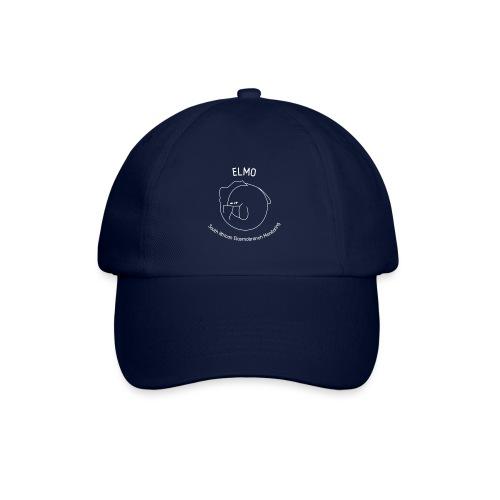elmo logo large white - Baseball Cap