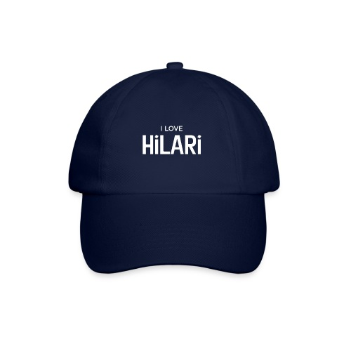 I love HILARI - Baseballkappe